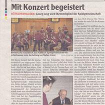 Konzert Frühjahr 2010, Wochenblatt Landstuhl