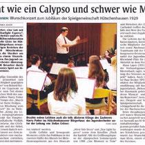 Konzert November 2009, Rheinpfalz