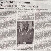 Konzert November 2004, Rheinpfalz