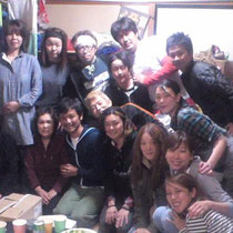 三浦さん、お母さま、三浦邸の皆さま本当に有難うございました!明日の越路姉妹のライブ楽しみにしていて下さいね☆