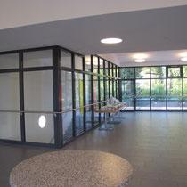 Brandschutz-Verglasung Treppenhaus