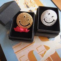 Smile シルバー ¥7130 K18ゴールドコーティング ¥9180
