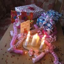 Anschließend wurde unser ULTRA-FINISH und der Geburtstag gefeiert