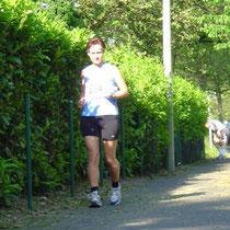 Trotz Hitze ein wenig warm laufen :-)