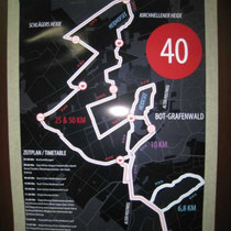 Streckenplan ( 2 x 25 KM )