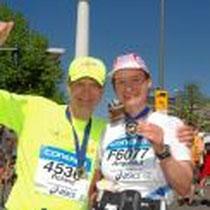Meine erste Marathon - Medaillie :-)