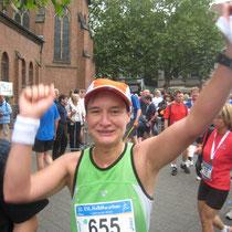 EVL Halbmarathon Leverkusen 2008 - Große Freude über eine neue PB :-)