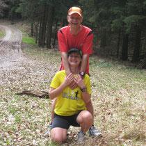 Unsere 10 KM Laufrunde - 2 Tage vor dem Wettkampf