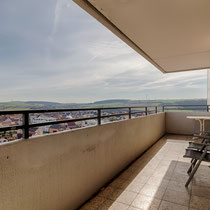 Immobilie Wohnung HDR Balkon