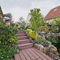 Immobilie Haus HDR Garten