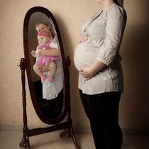 Babybauch - Blick in die Zukunft