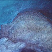 o.T., Tusche/Papier, 50 x 65 cm, 2018