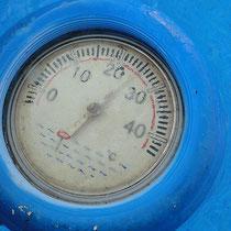 Thermometer - Pool der Villa Gandia Hills, Ferienwohnung Valencia, 11/11