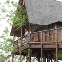 Im Baumhaus lebten wir fast wie Tarzan und Jane