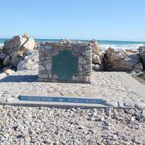 Der südlichste Punkt. Links der inische- rechts der atlantische Ozean