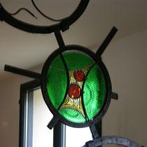 Sculpture lampe de séparation