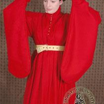 Houppelande dame XIVème siècle en Laine référence: WKWR0087 Prix: 419 €