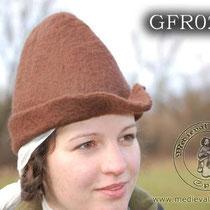 Chapeau en feutre brun Référence: GFR0268 Prix: 39 €