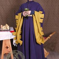 Houppelande dame XIVème siècle en Laine Référence: WMWR089 Prix: 419 €