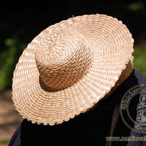 Chapeau de paille mixte Référence:GoSO0493 Taille de 56-59 cm Prix: 25 €