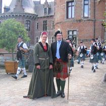 Nathalie Brandt en compagnie de Lord Harry