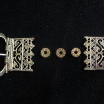 Boucle de ceinture Dame - largeur 55 mm - Référence: BB1 - Prix: 75 €
