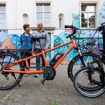 Blue Label Transporter Lasten e-Bike 2015