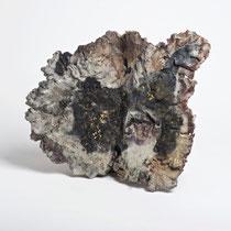 Céramique, enfumage, 35x34 cm, 2017