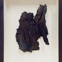 Céramique, enfumage, h 22 cm, 2016