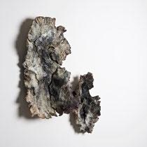 Céramique, enfumage, 39x34 cm, 2017