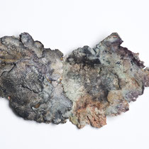 Céramique, enfumage, 29x17 cm, 2019