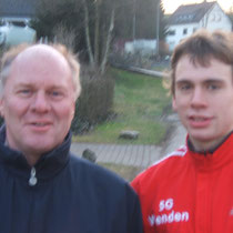 2007: Mit Bundestrainer Henning van Papen