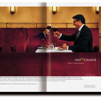 Indexchange Corporate Design, Geschäftspapiere, Broschüren, Produkt- und Imageanzeigen...