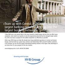 HypoVereinsbank Corporate Design, Geschäftsberichte, Filialausstattung, Broschüren, Image- Produkt- und Personalanzeigen
