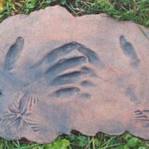Handzeichen III, 2002, 30x40