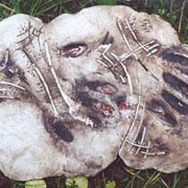 Handzeichen I, 2002, 30x40