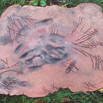 Handzeichen II, 2002, 30x40