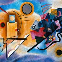 Copia da GIALLO ROSSO BLU di Wassily Kandinsky