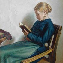 Copia da RAGAZZA CHE LEGGE di Michael Ancher