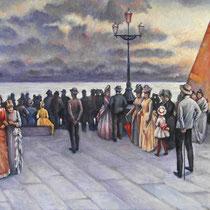 Copia da un dipinto di Carlo Wostry (1865-1943)