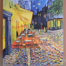 Copia da TERRAZZA DEL CAFFE' LA SERA di Vincent Van Gogh
