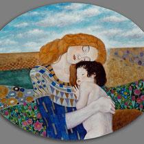 Rielaborazione di un soggetto di Gustav Klimt