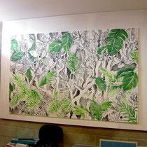 pannelli decorativi - colori acrilici su legno