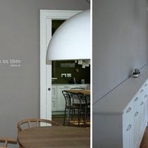 scritta ad acrilico su muro