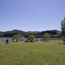 Le lac Martial, un bon endroit pour une petite pause sur votre route vers le Mont Gerbier de Jonc.