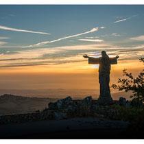 Le jour se lève sur Castelo Rodrigo (Portugal 2012)