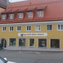 Maler Wöhnl in Schongau Umbau und Sanierung
