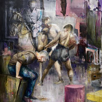 Untitled | Oil on canvas | 150 x 125 cm | 2021