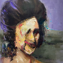Untitled   Oil on canvas   40 x 30 cm   2020