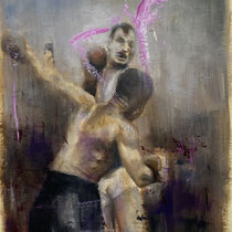 Untitled | Oil on paper | 42 x 29.5 cm | 2021